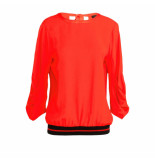 Summum T-shirts lange mouw 126591 rood