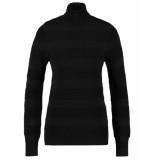 Studio Anneloes Pullover 03402 pina turtleneck zwart