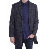 Genti Genua coat navy blauw