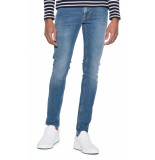 Nudie Jeans Co tight terry jeans blauw