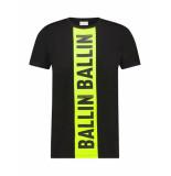 Ballin Amsterdam T-shirt Ballin zwart