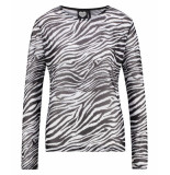 Catwalk Junkie Longsleeve zebra black zwart