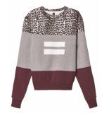 10 Days Sweatshirt 20-807-9103 grijs