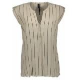 10 Days Sleeveless blouse 20 404 8103 bone beige