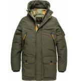 PME Legend Long jacket ice pilot 3.0 beluga bruin