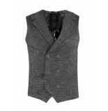 Gabbiano Gilet black-grey zwart