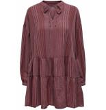 Only Onlnew athena l/s dress wvn 15203397 apple butter/apple butter roze