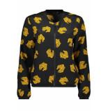 Only Onlvictoria ls bomber wvn 15194580 black/yellow tiger zwart