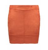Only Onljulie fauxsuede bonded skirt otw 15165913 ketchup rood
