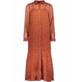 Only Onlkim ls dress wvn 15184670 arabian spice/blooming oranje