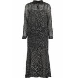 Only Onlkim ls dress wvn 15184670 black/blooming zwart