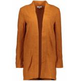 Only Onlonce coatigan otw 15139754 ginger bread oranje