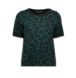Only Onlzandra s/s pullover knt 15183661 forest biome/w. black groen
