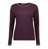 Only Onlzandrax l/s pullover knt 15189927 night sky/w. tawny blauw