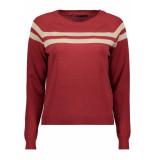 Only Onlamelie l/s pullover knt 15184469 merlot/rose gold roze
