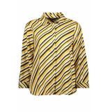 Vero Moda Vmronja 3/4 shirt wvn ga ki 10219622 amber gold/ronja geel