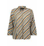 Vero Moda Vmronja 3/4 shirt wvn ga ki 10219622 tobacco brown/ronja bruin