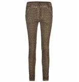 Bianco Jeans Lange broek 1219167-alison col bruin