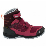 Jack Wolfskin Wandelschoen girls grivla texapore vc high dark ruby rood