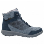 Jack Wolfskin Wandelschoen women seven wonders texapore mid night blue blauw