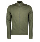 Only & Sons Onstyler 12 m zip cardigan knit no 22014164 forest night groen