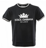 Dolce and Gabbana Kids T-shirt blauw