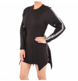 Philipp Plein You are too fast day dress zwart