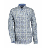 State of Art Overhemd regular fit poplin blue blauw