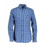 State of Art Overhemd regular fit kobalt blue blauw