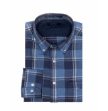 Gant Overhemd w. ruppert pk heather twill ls bd dark indigoblue melange blauw