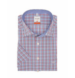Olymp Shirts casual modern fit s/s blue and red