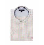 Gant Shirt l. bel air twill check ss bd raw pink