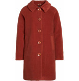 King Louie Betty coat fayette henna red rood
