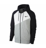 Nike M nsw swoosh hoodie fz ft bv5299-064 zwart