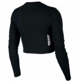 Nike W np capsule ls top aero-ada bv4134-010 zwart