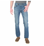 Diesel Buster slim-tape fit jeans 0837i blauw