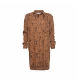 Sparkz Lange blouse chestnut alva bruin