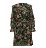 Scotch & Soda 148426 0589 printed drapey ruffle dress