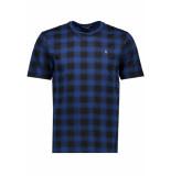 Only & Sons Onsbart ss aop tee 22013549 dress blue blauw