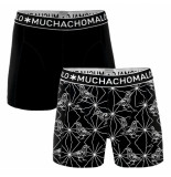 Muchachomalo Men 2-pack short varia zwart