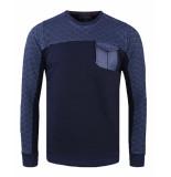 Gabbiano Sweatshirt 77086 blauw