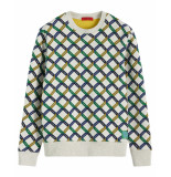 Scotch & Soda Pullover 152034 wit