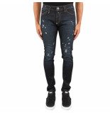 Philipp Plein Slim fit statement blauw