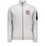 PME Legend Zip sweat jacket psw195404 921 grijs
