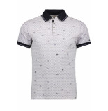 Cast Iron Short sleeve polo cpss195346 7001 paars