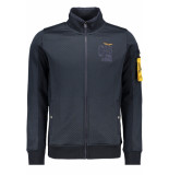PME Legend Zip sweat jacket psw195404 5281 blauw