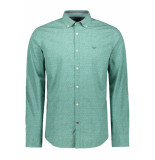 PME Legend Poplin print shirt psi195206 5224 groen