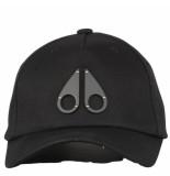 Moose Knuckles Logo icon cap zwart