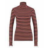 L.O.E.S. 20266 3590 loes solange rollneck orange/black