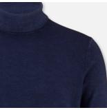 Olymp Level 5 pullover coltrui 535145-18 blauw